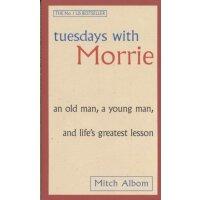 英文原版 Tuesdays with Morrie 相约星期二