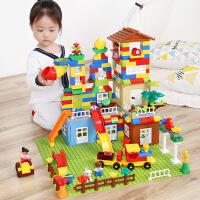 【限时抢】糖米儿童积木兼容乐高拼装大颗粒男孩子女孩益智玩具六一儿童节礼物