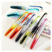 日本百乐PILOT 元气小钢笔/透明迷你钢笔/SPN-20F钢笔 8色入