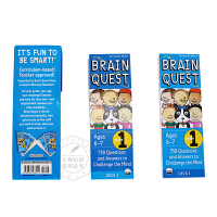 Brain Quest Grade 1 英文原版 750 Questions and Answers to Chall