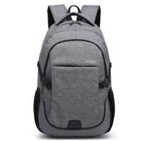 商务 休闲 双肩包 男士背包女旅行包潮学院风大中学生书包电脑包