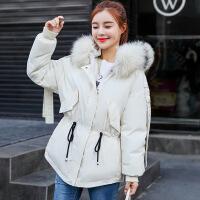 反季棉衣2018冬季外套女短款宽松面包服韩版学生加厚羽绒冬装