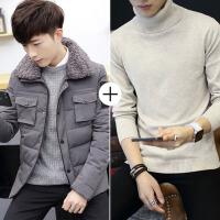 冬季厚款男士棉衣男韩版修身男装潮流保暖棉袄子青年冬天外套
