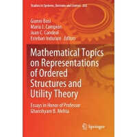 【预订】Mathematical Topics on Representations of Ordered Struct