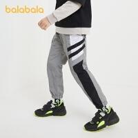 【券后预估价:62.9】巴拉巴拉男童运动裤儿童裤子中大童长裤轻薄休闲洋气春秋款