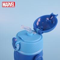 迪士尼儿童吸管水杯小学生便携男防摔夏季幼儿园女宝宝塑料杯