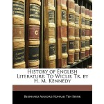 【预订】History of English Literature: To Wiclif, Tr. by H. M.