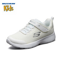 【限时抢:99元】斯凯奇(SKECHERS)儿童鞋 2019年秋季新款 简约轻便学院鞋 透气网布休闲鞋 664091L