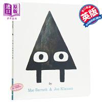 【中商原版】三角形 英文原版 Triangle 获奖名家绘本 趣味故事 风趣幽默 3-8岁