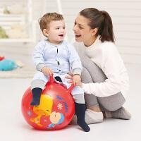【当当自营】费雪FisherPrice 18寸手柄加厚羊角跳跳球充气球幼儿园儿童户外玩具球跳跳球(送脚泵) 红色晴天F