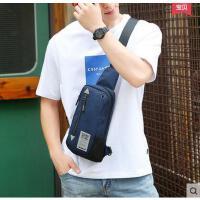韩版潮休闲腰包运动小背包男士包包男士胸包 单肩斜挎包