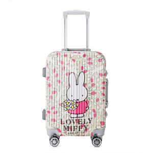 Miffy/米菲新品拉杆箱 卡通时尚旅行箱学生行李箱韩潮女