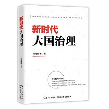 新时代大国治理(pdf+txt+epub+azw3+mobi电子书在线阅读下载)