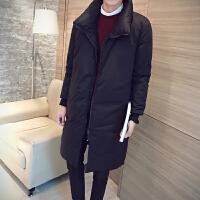 男士韩版修身羽绒服时尚休闲羽绒服冬季大码羽绒服潮