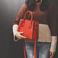 手提包女韩版冬季19简约时尚同款斜跨方包百搭单肩包