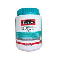Swisse澳洲原装进口深海鱼油胶囊 降三高调血稠 野生无腥味 400粒一瓶 海外购