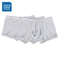 一包3条 真维斯男装 冬装新款 舒适平角内裤