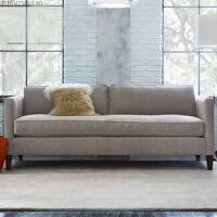美式沙发床.可折叠1.5米1.8米大小户型简约客厅布艺沙发床 1.8米-2米
