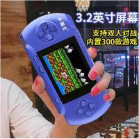 FC掌机PSP游戏机充电怀旧游戏机儿童彩屏益智掌上游戏机