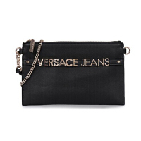 VERSACE JEANS 范思哲 奢侈品 新款 女士黑色聚酯纤维手包单肩斜挎包 E3VTBPL1 70887 899
