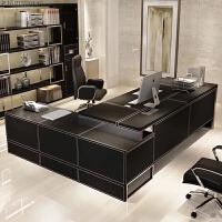 办公家具老板桌总裁桌简约现代大气班台时尚经理主管办公桌椅组合