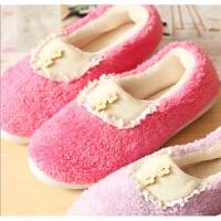 20190815065315812可爱棉拖鞋女 包跟棉拖鞋女款毛绒月子鞋冬季拖鞋卡通棉拖鞋