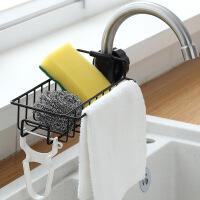 【家装节 夏季狂欢】厨房创意水龙头沥水篮置物架水池水槽抹布挂篮洗碗布海绵收纳神器