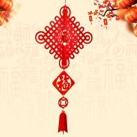 大红福字宫灯小灯笼国庆春节阳台挂件创意无纺布场景布置装饰用品