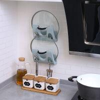 免打孔厨房大锅盖架壁挂式多功能砧板收纳架壁挂免打孔放锅盖的架子厨房用品置物架菜板家用菜板置物架省空间