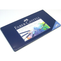 德国辉柏嘉FABER-CASTELL 24/36/60色蓝盒三角点阵水溶彩笔