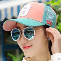 鸭舌帽女网红同款时尚防晒男士遮阳帽子 韩版潮户外运动新品嘻哈字母棒球帽帽