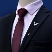 领带 男式拉链懒人领带2020年韩版新款结婚配饰男式时尚休闲职业装