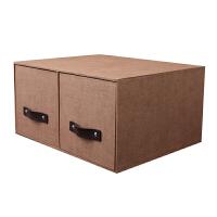 创意桌面书架衣柜办公室居杂物cd大容量抽屉式柜收纳盒整理箱