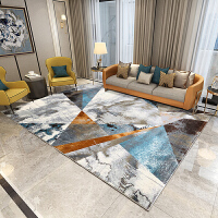 家用房间客厅沙发茶几地毯卧室设计师轻奢时尚抽象几何现代
