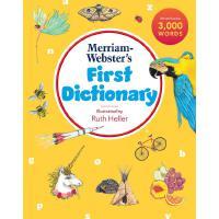 【中商原版】麦林韦氏儿童初级插图字典 英文原版 Merriam Webster's first dictionary