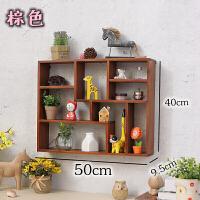 实木茶杯储物盒杯子收纳架桌面多层置物架复古木架子墙壁挂