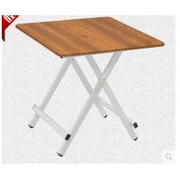 空大78*78*75简易家用折叠桌小方桌餐桌便携式户外摆摊桌阳台折叠桌