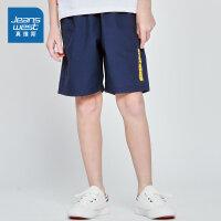 [一件5折价:40元]真维斯男童 2019夏装新款 休闲印花宽松短裤