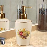 欧式陶瓷洗手液瓶子创意按压沐浴露分装瓶酒店洗发水瓶乳液瓶