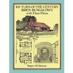 【预订】100 Turn-Of-The-Century Brick Bungalows with Floor Plan