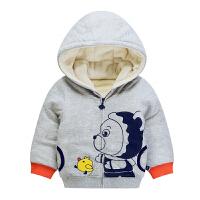 安塞尔斯01婴幼儿童装2宝宝棉衣外套秋装3岁小男童加厚棉袄