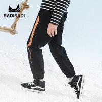 【2件3折价:49】巴拉巴拉旗下 巴帝巴帝男童松紧腰休闲风酷2018冬季新款裤子