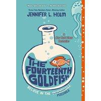 【现货】英文原版 第十四条金鱼 The Fourteenth Goldfish 9-11岁适读 纽伯瑞获奖作品 纽约时