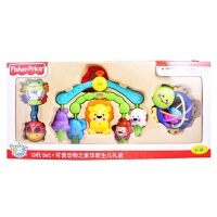 [当当自营]Fisher Price 费雪 可爱动物之豪华新生儿礼盒 婴儿玩具 X7169