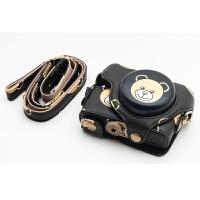 索尼RX100M5 M4 M3黑卡相机包相机套皮套可爱卡通世帆家SN7958