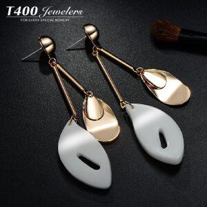 T400耳钉女 日韩国气质简约耳环 个性甜美防过敏耳饰品 节拍  2731