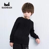 【2件3折价:49】巴拉巴拉旗下 巴帝巴帝男童儿童套头毛衣毛衫18冬新款