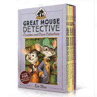 【中商原版】The Great Mouse Detective 老鼠神探 妙妙探 5本盒装 6-9岁