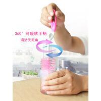 【家装节 夏季狂欢】杯刷海绵刷子玻璃奶瓶清洁刷套装长柄瓶刷360度旋转洗杯子神器 默认产品