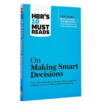 【中商原版】哈佛商业评论的10必须读:有更好的点子 英文原版 HBR's 10 Must Reads on Making Smart Decisions 哈佛商学院的经典系列丛书